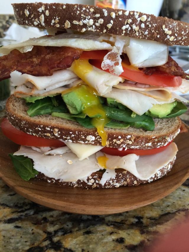 Club Sandwich pugtato kitchen workouts creativity cooking