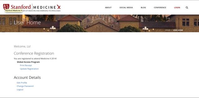 Global Access 2014 Medicine X Stanford