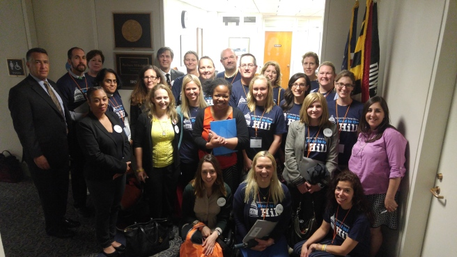 Head to the Hill Brain Tumor Advocacy