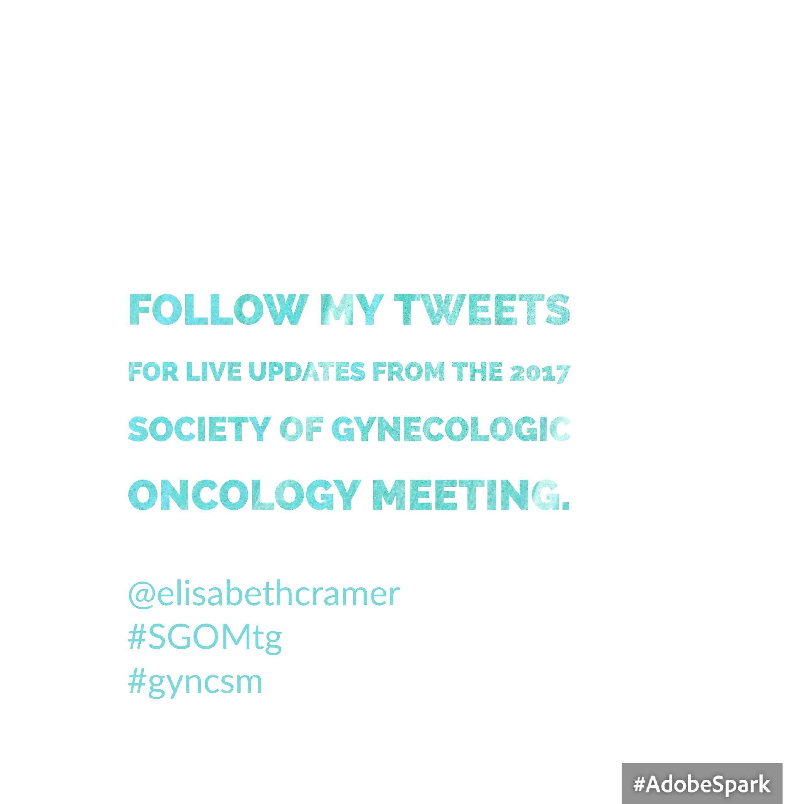 Society of Gynecologic Oncology Annual Meeting 2017 | PUGTATO